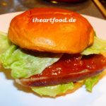 Currywurst-Burger